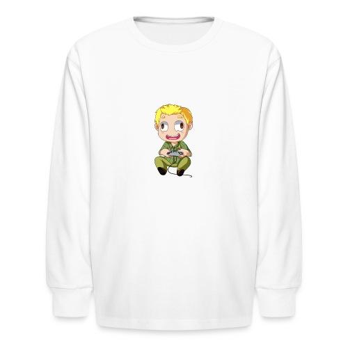 GOG Game Face Pillow - Kids' Long Sleeve T-Shirt