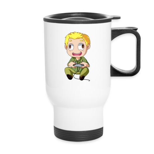 GOG Game Face Pillow - Travel Mug