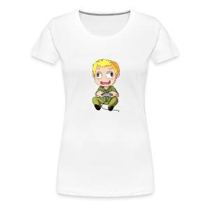 GOG Game Face Pillow - Women's Premium T-Shirt