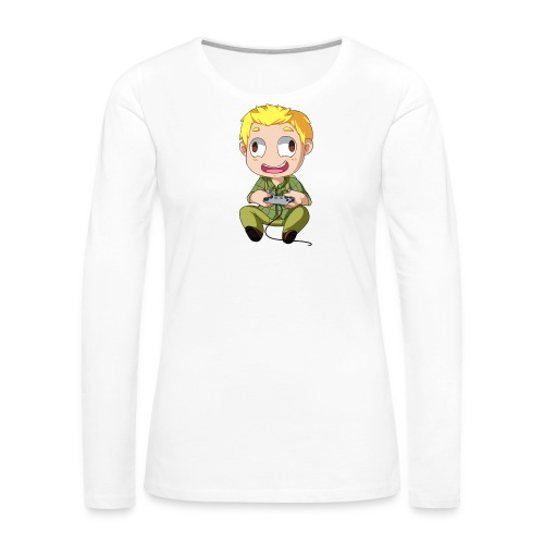 GOG Game Face Pillow - Women's Premium Long Sleeve T-Shirt