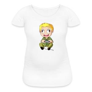 GOG Game Face Pillow - Women's Maternity T-Shirt