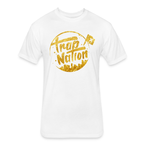 Gold - Fitted Cotton/Poly T-Shirt by Next Level