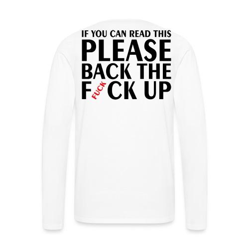 Motorcyclyst Safety - Men's Premium Long Sleeve T-Shirt