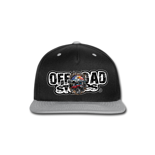Mudding USA BACK - Snap-back Baseball Cap