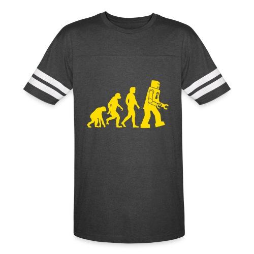 Sheldon Robot Evolution - Vintage Sport T-Shirt
