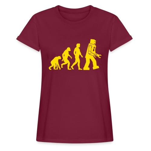 Sheldon Robot Evolution - Women's Relaxed Fit T-Shirt