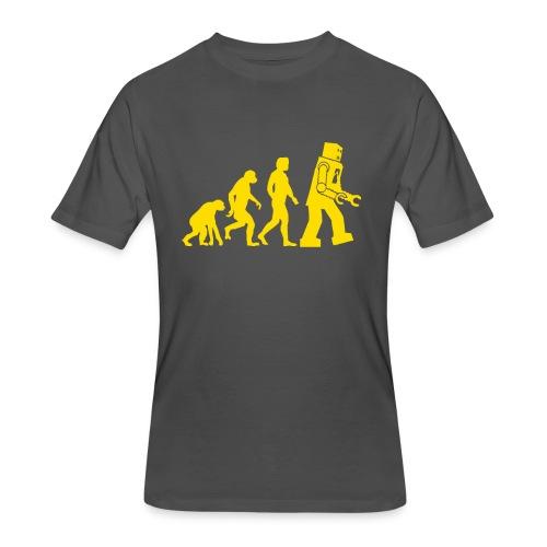 Sheldon Robot Evolution - Men's 50/50 T-Shirt