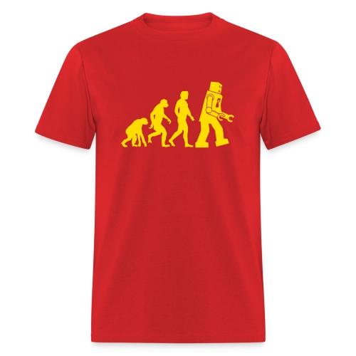 Sheldon Robot Evolution - Men's T-Shirt