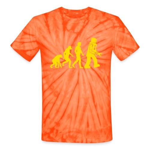 Sheldon Robot Evolution - Unisex Tie Dye T-Shirt