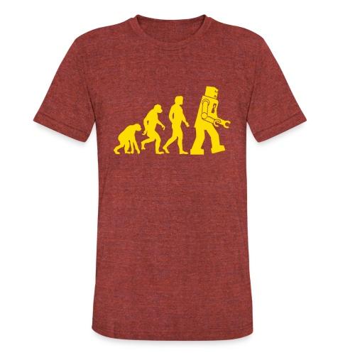 Sheldon Robot Evolution - Unisex Tri-Blend T-Shirt