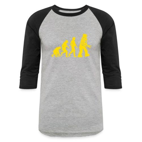 Sheldon Robot Evolution - Baseball T-Shirt