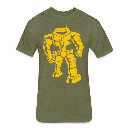 Sheldon: Manbot T-Shirt - Fitted Cotton/Poly T-Shirt by Next Level