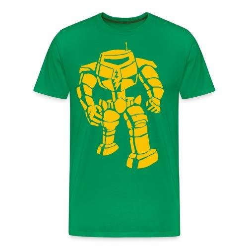 Sheldon: Manbot T-Shirt - Men's Premium T-Shirt