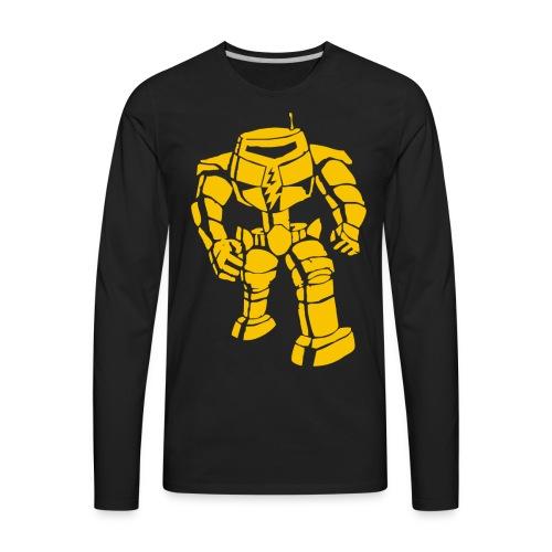 Sheldon: Manbot T-Shirt - Men's Premium Long Sleeve T-Shirt