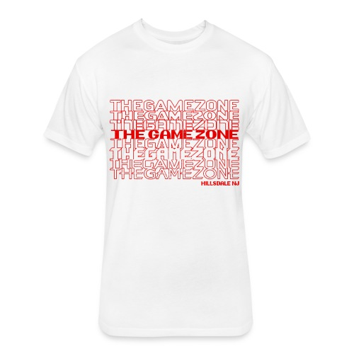 Thank You: The Game Zone - Fitted Cotton/Poly T-Shirt by Next Level