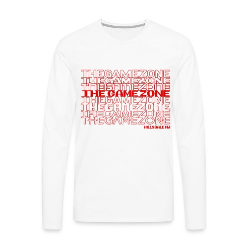 Thank You: The Game Zone - Men's Premium Long Sleeve T-Shirt
