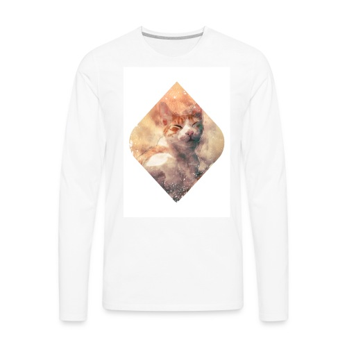 Cat´s dream - Men's Premium Long Sleeve T-Shirt