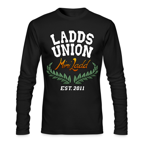 Mini Ladd Ladds Union Shirt Mens - Men's Long Sleeve T-Shirt by Next Level