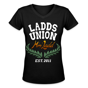 Mini Ladd Ladds Union Shirt Mens - Women's V-Neck T-Shirt