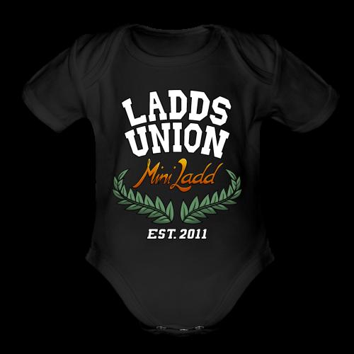Mini Ladd Ladds Union Shirt Mens - Organic Short Sleeve Baby Bodysuit