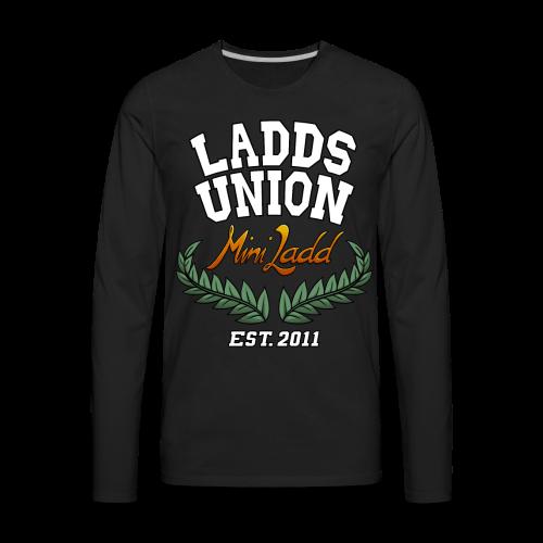 Mini Ladd Ladds Union Shirt Mens - Men's Premium Long Sleeve T-Shirt