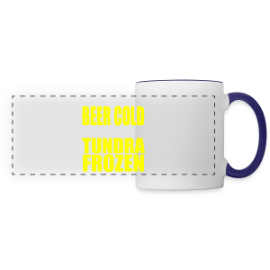 Beer Cold & Tundra Frozen  - Panoramic Mug