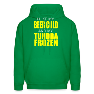Beer Cold & Tundra Frozen  - Men's Hoodie