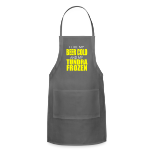 Beer Cold & Tundra Frozen  - Adjustable Apron