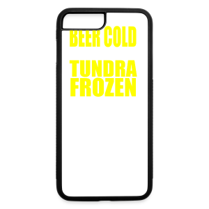 Beer Cold & Tundra Frozen  - iPhone 7 Plus Rubber Case