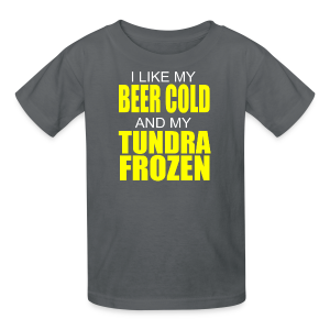 Beer Cold & Tundra Frozen  - Kids' T-Shirt