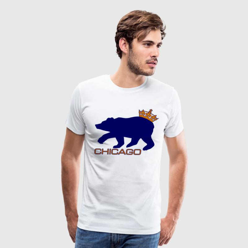 Funny Bears Dennis Green Crown Their Ass T-Shirts - Men's Premium T-Shirt
