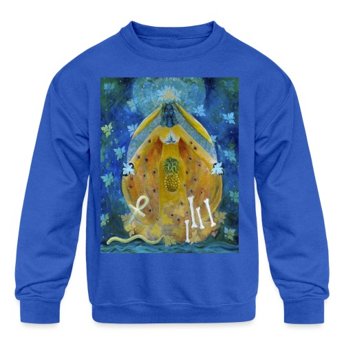 The Cosmic Shakti, Men's Tie Dye T-shirt - Kids' Crewneck Sweatshirt