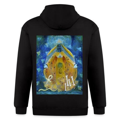 The Cosmic Shakti, Men's Tie Dye T-shirt - Men's Zip Hoodie