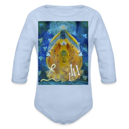 The Cosmic Shakti, Men's Tie Dye T-shirt - Organic Long Sleeve Baby Bodysuit