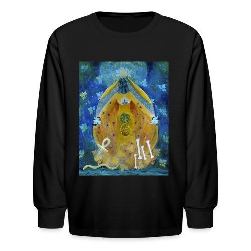 The Cosmic Shakti, Men's Tie Dye T-shirt - Kids' Long Sleeve T-Shirt