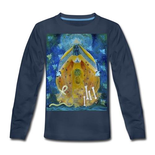 The Cosmic Shakti, Men's Tie Dye T-shirt - Kids' Premium Long Sleeve T-Shirt