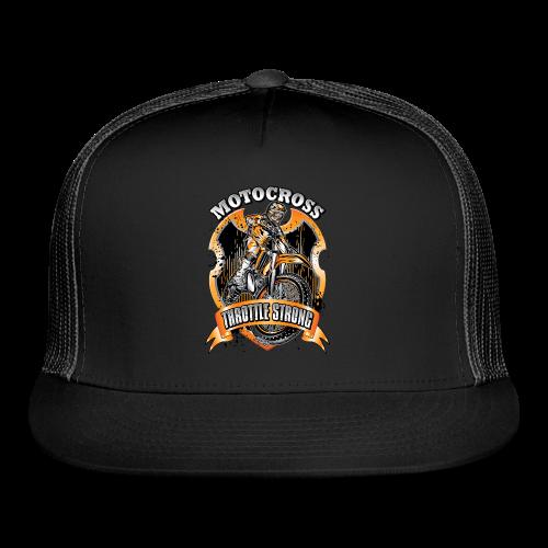 Throttle Strong Motocross - Trucker Cap