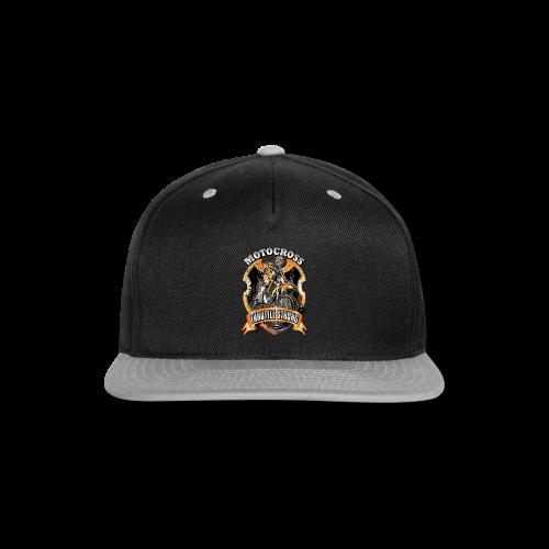 Throttle Strong Motocross - Snap-back Baseball Cap