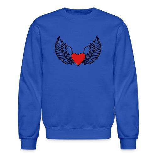 Winged Love - Crewneck Sweatshirt
