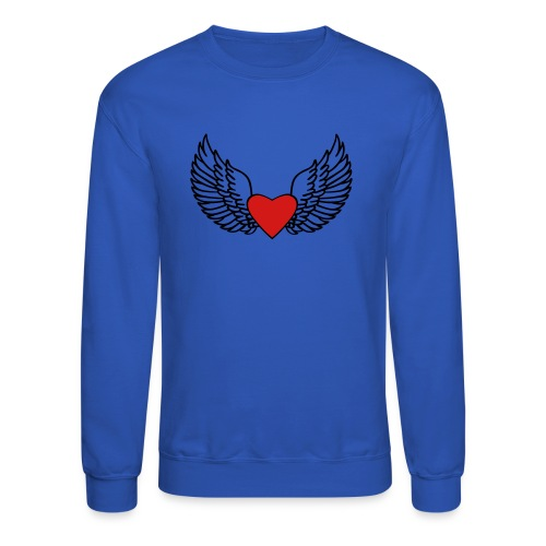 Winged Love - Crewneck Sweatshirt
