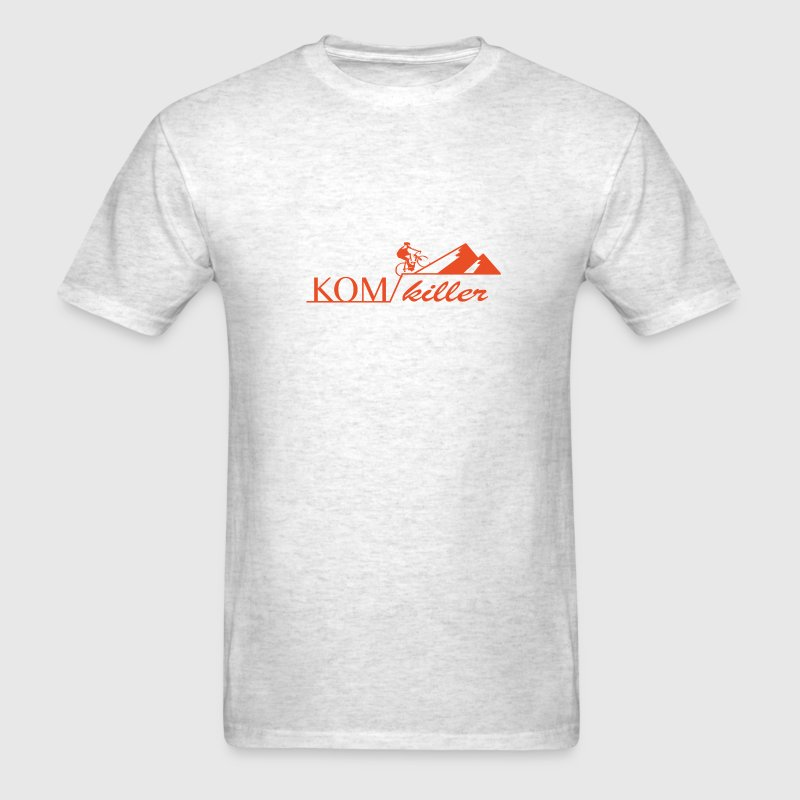 King of Mountain cycling shirt strava - Men's T-Shirt