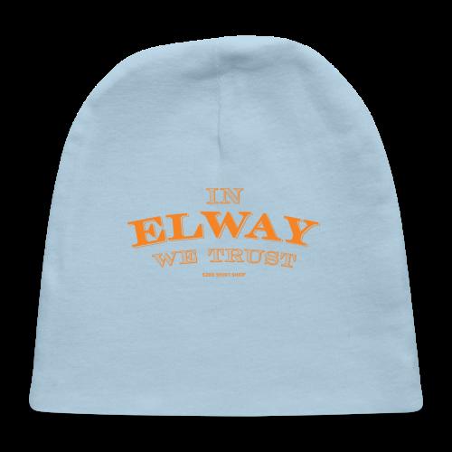 In Elway We Trust - Mens - T-Shirt - OP - Baby Cap