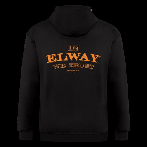 In Elway We Trust - Mens - T-Shirt - OP - Men's Zip Hoodie