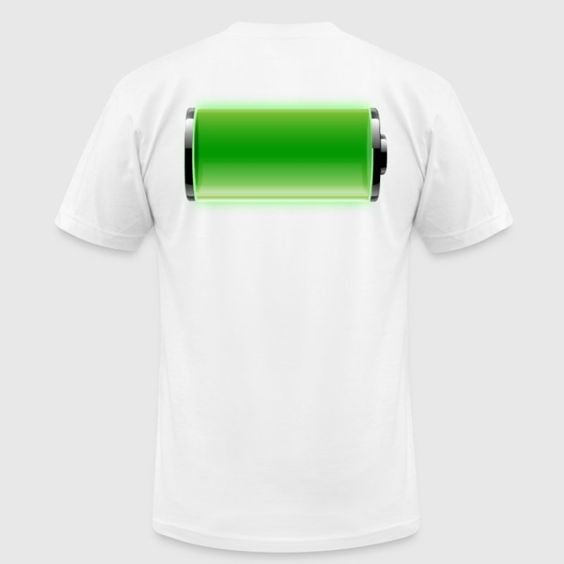 Charged up T-Shirts - Men's T-Shirt by American Apparel