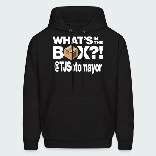Up to 5XL- What's In The Box? - Men's Hoodie