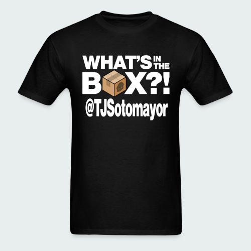 Up to 5XL- What's In The Box? - Men's T-Shirt