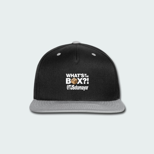 Up to 5XL- What's In The Box? - Snap-back Baseball Cap