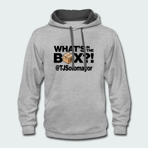 What's In The Box? - Contrast Hoodie