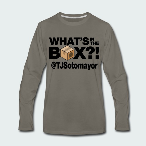 What's In The Box? - Men's Premium Long Sleeve T-Shirt