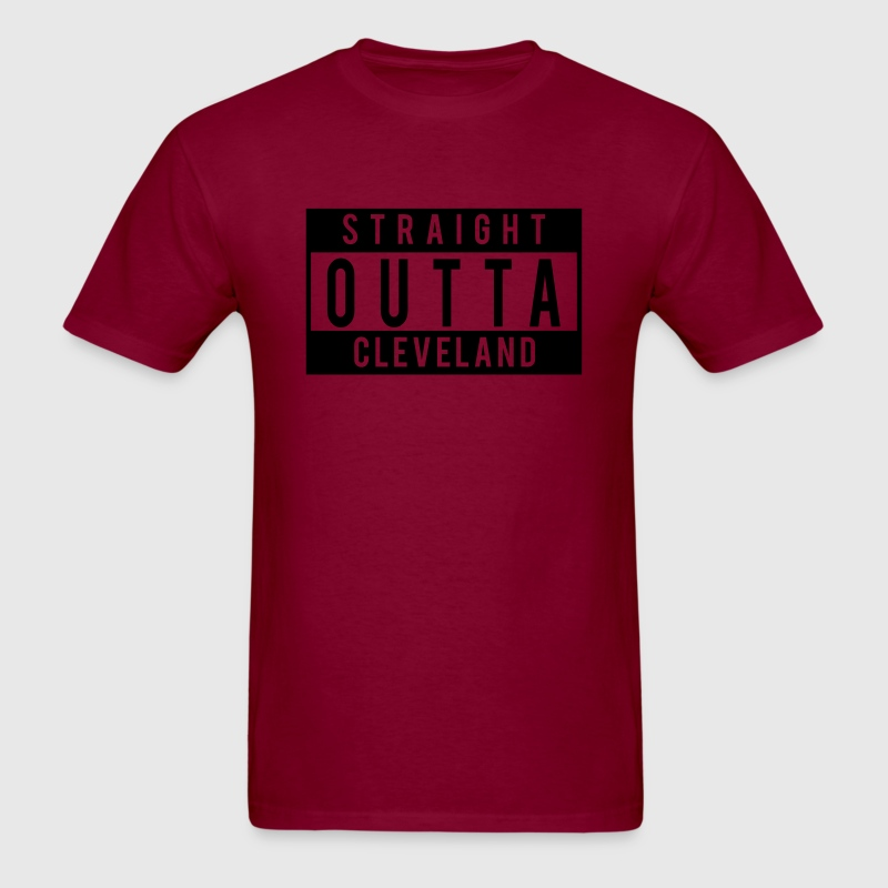 Straight Outta Cleveland T-Shirts - Men's T-Shirt